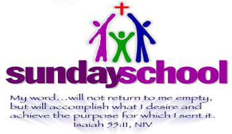 9:00 AM Sunday School