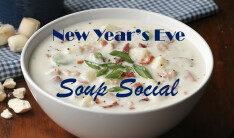 New Year's Eve Soup Fellowship - Yearly on Dec 31 6:00 PM
