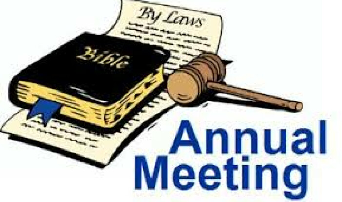 Annual Meeting - May 21 2017 11:30 AM