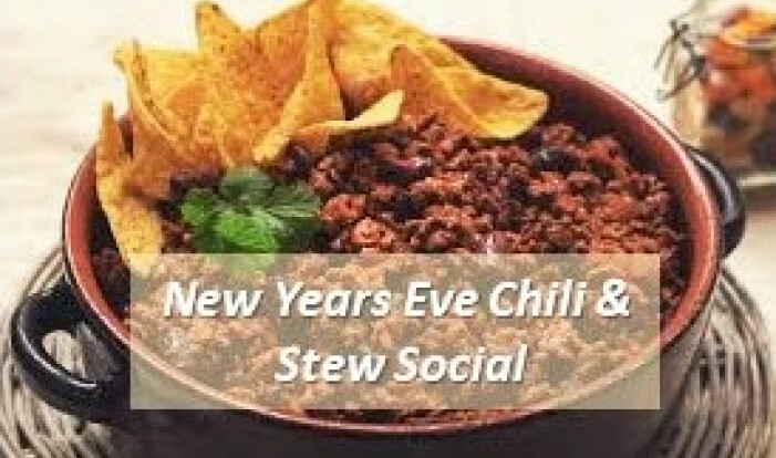 New Years Eve Chili and Stew Fellowship - Dec 31 2017 6:00 PM