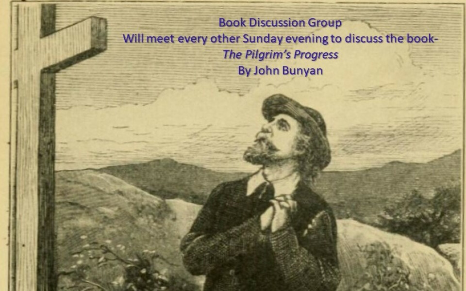 6:00 PM Book Discussion Group - The Pilgrim